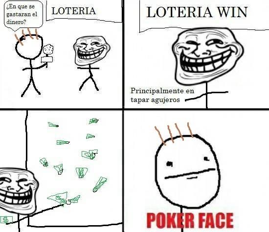 cabrones,dinero,lotería,poker face