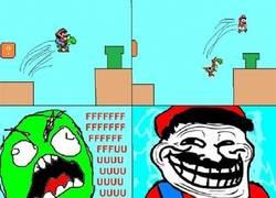 Enlace a Mario pasa de Yoshi