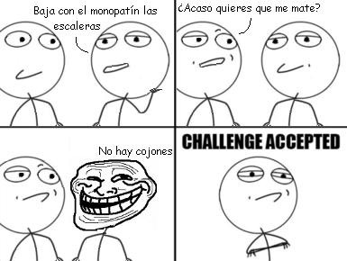 Challenge_accepted - Frase mágica