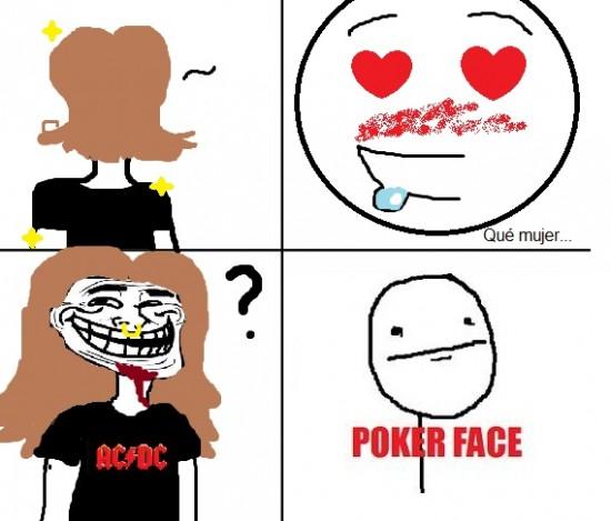 Pokerface - Las apariencias engañan