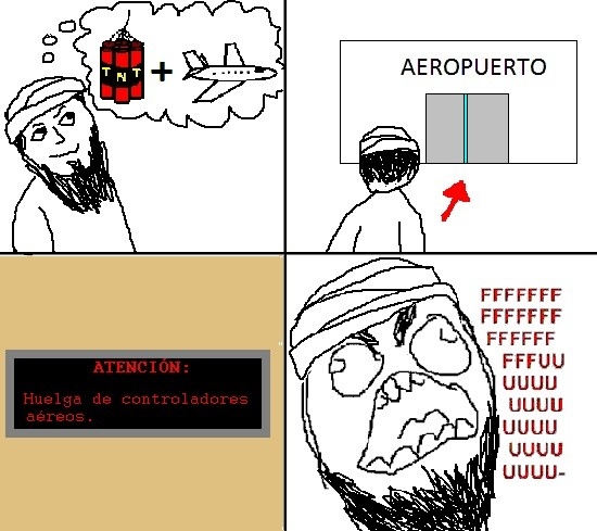 Ffffuuuuuuuuuu - Huelga de controladores aéreos