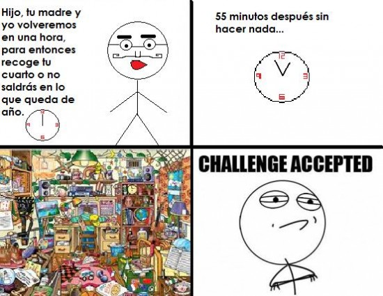 Challenge_accepted - 5 minutos...
