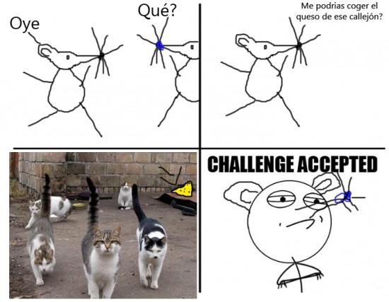 Challenge_accepted - Voy a por el queso
