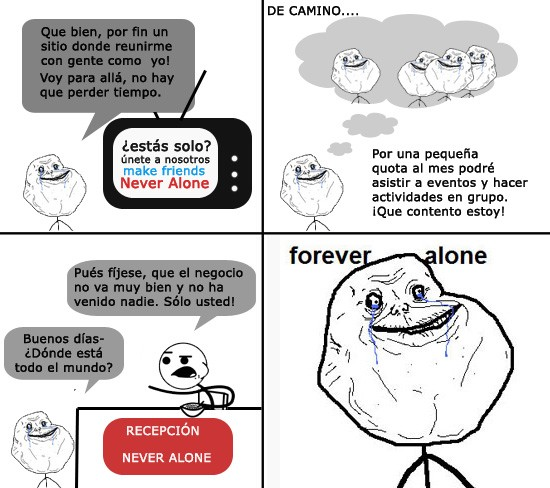 Forever_alone - Never Alone