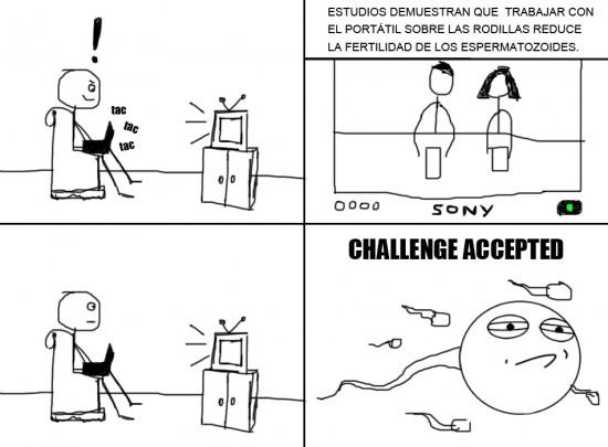Challenge_accepted - Todos lo sabemos pero nadie le hace caso
