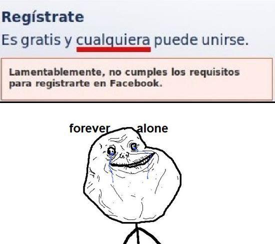 Forever_alone - Facebook