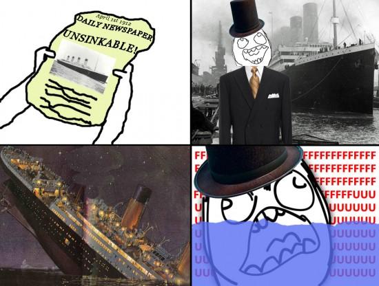 Ffffuuuuuuuuuu - Titanic