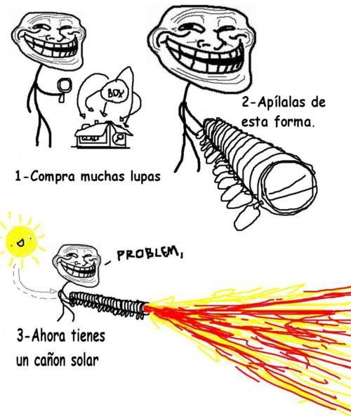 Trollface - Cañón Solar