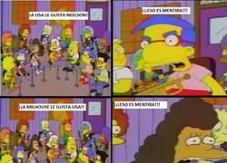 Enlace a A nadie le gusta Milhouse