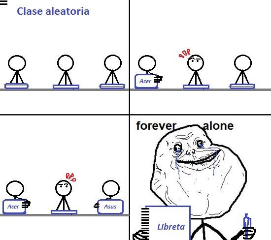 Forever_alone - Alumno Anticuado