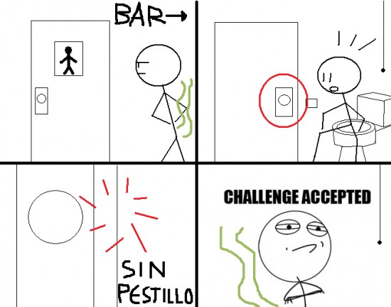 Challenge_accepted - Sin pestillo