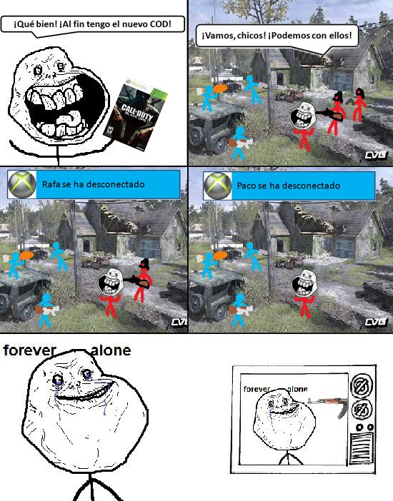 Forever_alone - Call of Duty