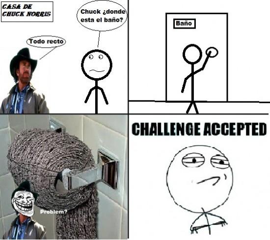 Challenge_accepted - El baño de Chuck