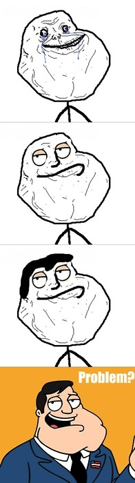 Forever_alone - Forever American Dad