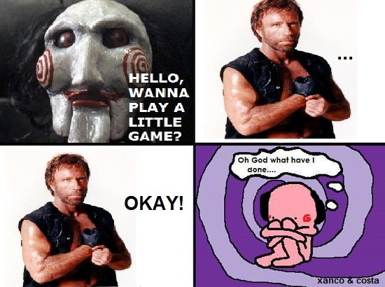 Oh_god_what_have_i_done - Chuck vs Saw