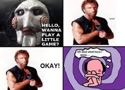 Enlace a Chuck vs Saw