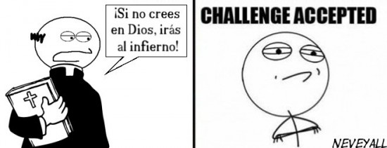 challenge accepted,cura,dios,papa,religion,sacerdote