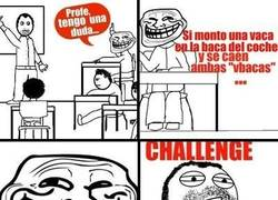 Enlace a Challenge accepted