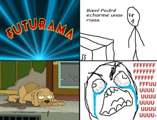 Ffffuuuuuuuuuu - El capítulo triste de Futurama