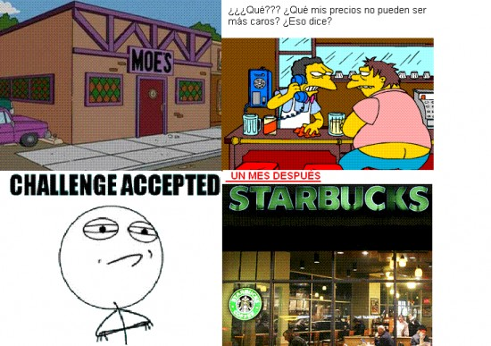 Challenge_accepted - Nadie puede matar a Moe