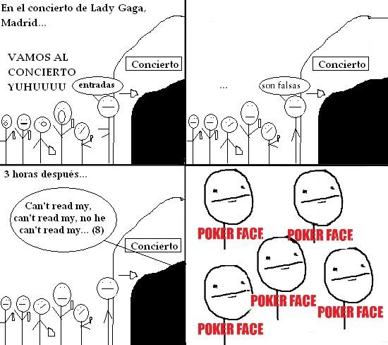 Pokerface - Concierto de Lady Gaga en Madrid