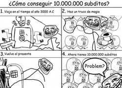 Enlace a ¿Cómo conseguir diez millones de súbditos?