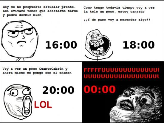 Cuanto Cabrón,Estudios,Examen,Procrastinación