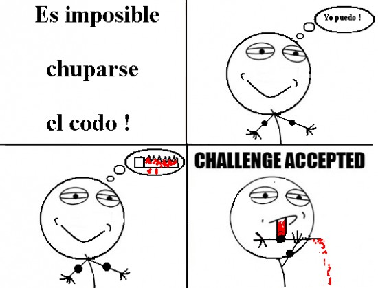 Challenge_accepted - Chuparse el codo