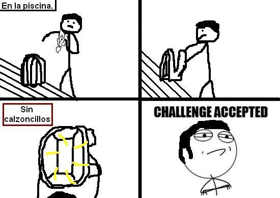 Challenge_accepted - Sin calzoncillos ante el peligro