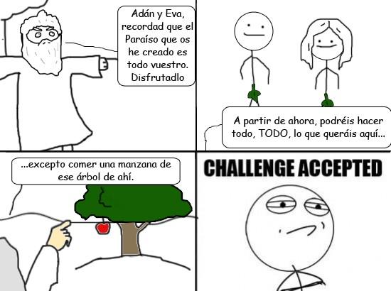 Challenge_accepted - El fruto prohibido