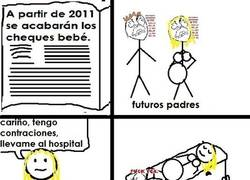 Enlace a Cheques bebé
