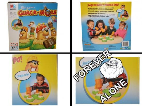 Forever_alone - Crueldad en juegos infantiles