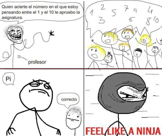 Feel_like_a_ninja - Acertar el número
