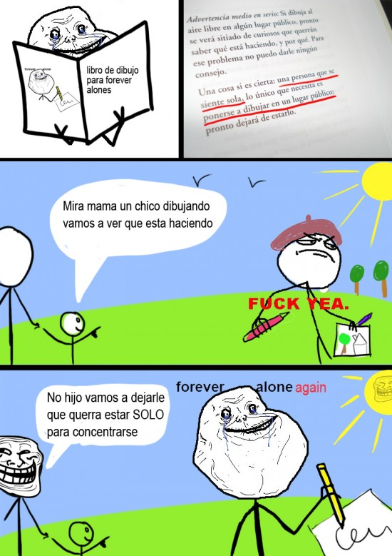Forever_alone - Forever Draw Alone