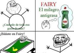 Enlace a Fairy, el milagro antigrasa