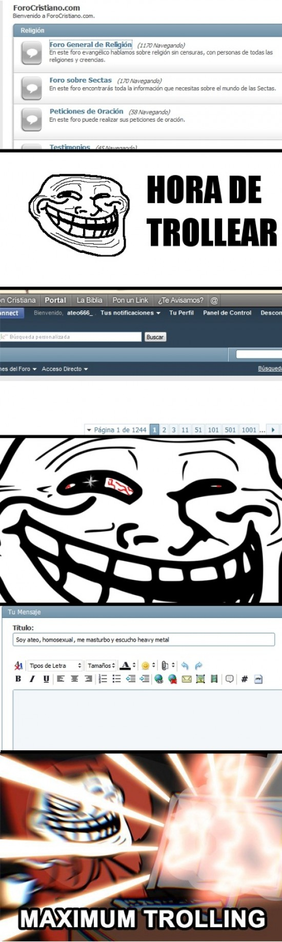 Trollface - Maximum Trolling