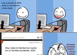 Enlace a Cuando ADV se torna dramático