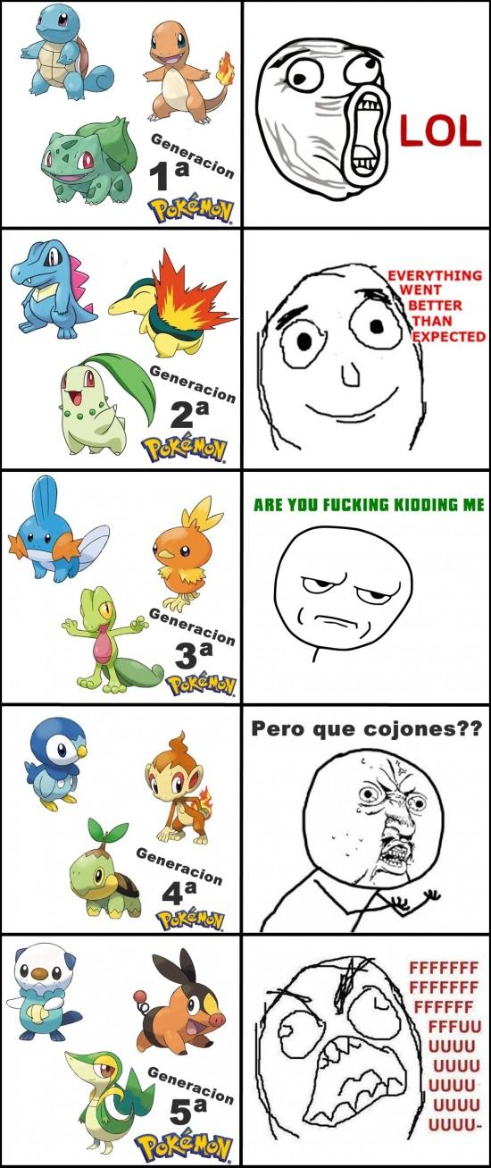 Ffffuuuuuuuuuu - Pokémon, tú antes molabas