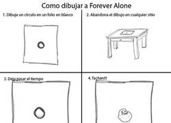 Enlace a Cómo dibujar a Forever Alone