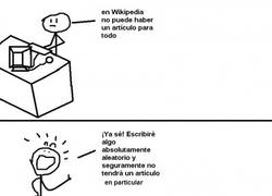 Enlace a Trolleando la Wikipedia