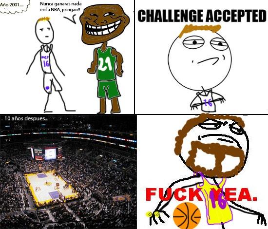 Fuck_yea - Gasol vs NBA