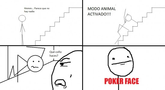 Pokerface - Escaleras