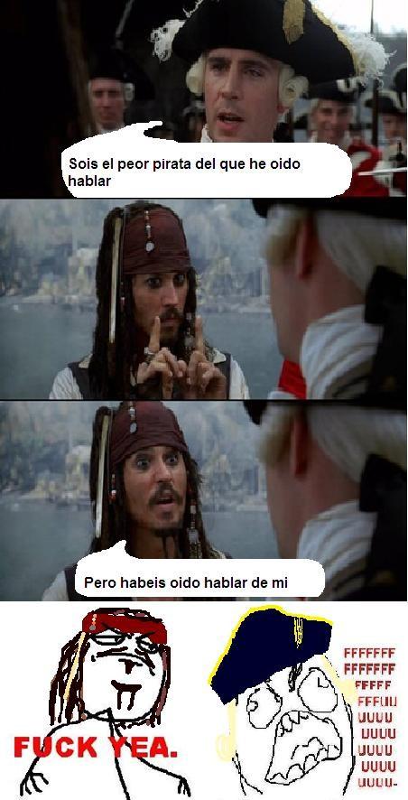 FFUUU,Fuck yeah,Jack Sparrow,Piratas del Caribe