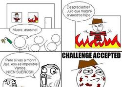 Enlace a Freddy Challenge accepted