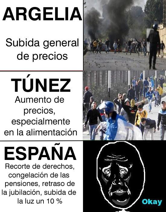 Okay - Mientras tanto, en España