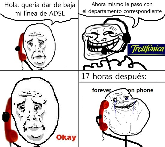 Forever_alone - Forever on phone