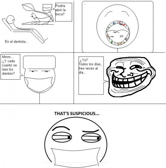 Thats_suspicious - El dentista no es tonto