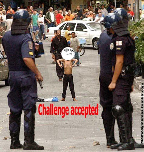 Challenge_accepted - Niño desafiante