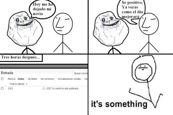 Its_something - Hay que ser positivo