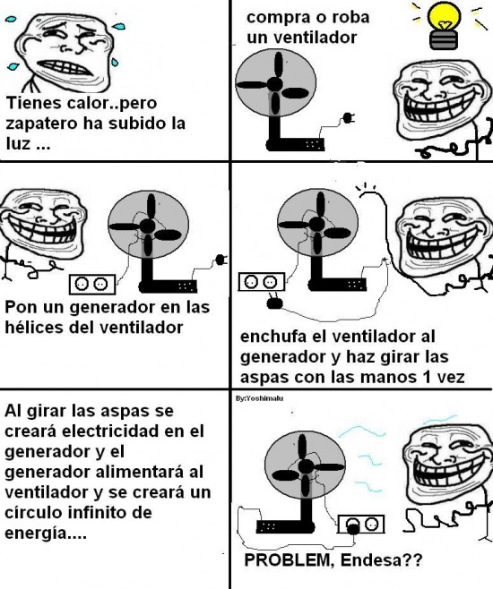Trollface - Aire infinito